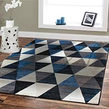 Black And White Modern Rugs Premium Large Rugs 8x11 Modern Rugs For Brown Sofa