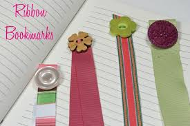 ribbon bookmarks cathie filian make it ribbon bookmarks