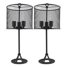 industrial lamp sets you u0027ll love wayfair