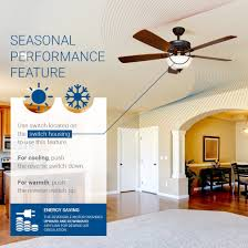 hyperikon indoor ceiling fan with remote control 52 inch