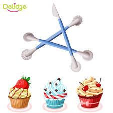 Christmas Cake Decorations Sugarcraft by Aliexpress Com Buy Delidge 3pcs Set Plastic Sugarcraft Wedding
