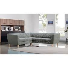 Leather And Fabric Sofas For Sale Best 25 Grey Fabric Corner Sofa Ideas On Pinterest Gray