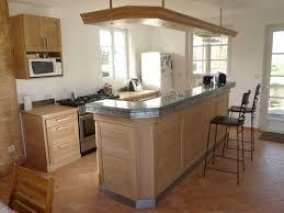 comptoir de cuisine sur mesure cuisine ouverte avec comptoir