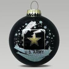 army sparkle ornament pinteres