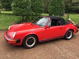 1988 porsche 911 cabriolet for sale classics for sale classics on autotrader