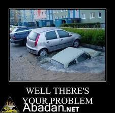 funny car accident تصادف ماشین