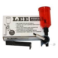 lee precision perfect powder measurer walmart com