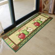 Apple Kitchen Rugs Yazi Vintage Apples Kitchen Rug Runner Soft Floor Carpet Anti Slip