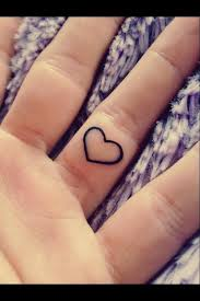 i don u0027t have any tattoos but this is cute red heart finger