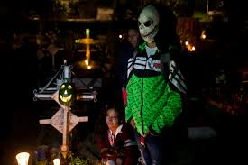 halloween in mexico city photos day of the dead kval