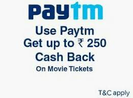 paytm new promocode 250 cashback on movie tickets new users