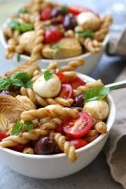creamy pasta salad recipe mediterranean delight pasta salad the fed up foodie