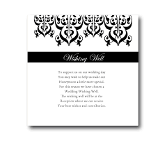 wedding wishes gift registry arabesque gift registry or wishing well card fifyfofum designs
