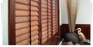 Lowes Shutters Interior Horizon Interior Plantation Shutters Installed On An Indoor Window
