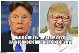 Kim Jong Un Snickers Meme - tonsorial diplomacy imgflip