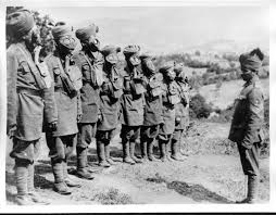 Ottoman Empire World War 1 Indian Pows In The Ottoman Empire During Wwi