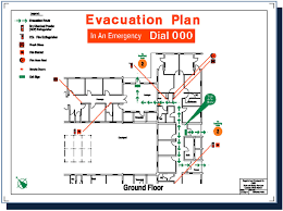 fire evacuation floor plan home emergency plan template spurinteractive com
