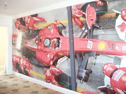 Childrens Bedroom Bench Sign Design Gb Portfolio Digital Wallpaper Ferrari F1 Wallpaper