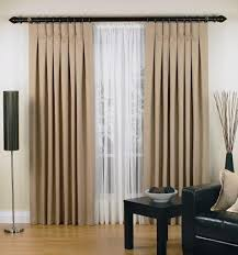 Pinch Pleated Drapes Traverse Rod Coffee Tables Hanging Rod Pocket Curtains On Traverse Rod How To