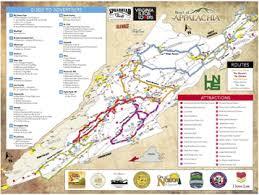 appalachian mountains on map free appalachian mountains backroads map hunt4freebies