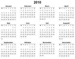 Kalender 2018 Helgdagar årskalender Mall I Pdf Almanacka Eu