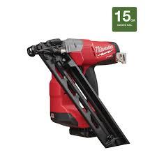 Menards Roofing Nailer by Milwaukee Fuel 2743 21ct 15 Gauge Brad Nail Gun B U0026m Ymmv 100