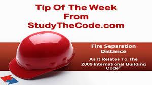 International Building Code Fire Separation Distances As Per The 2009 International Building