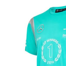 mercedes amg petronas t shirt mercedes amg petronas race winners t shirt 2016