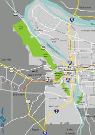 Forest Park Map Portland by File Portland Map Svg Wikimedia Commons