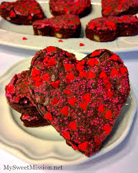 heart shaped crackers adorable heart shaped brownies my sweet mission