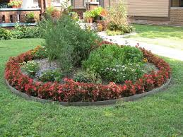 home and garden decorating ideas enticing simple garden design concept having circle edges layering