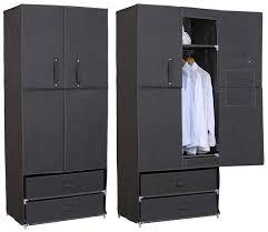 Schlafzimmerschrank Cabinet Kleiderschrank Garderobenschrank Faltschrank Campingschrank Stoff