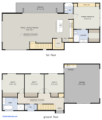 4 bedroom 2 bath floor plans floor plans for a 4 bedroom house best of small 2 story house