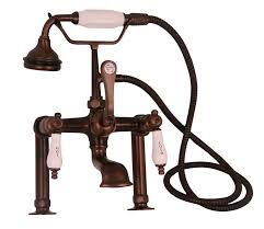 Bathroom Faucet Oil Rubbed Bronze Beautiful Deckmount Leg Tub Faucets