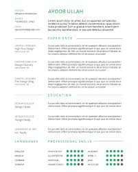 Indesign Resumes How To Create A Simple Resume Using Indesign U2013 Annenberg Digital