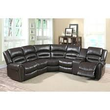 Modern Bonded Leather Sectional Sofa Vig Furniture 4087 Modern Bonded Leather Sectional Sofa With