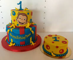 curious george birthday cake curious george one bakery