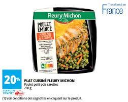 plat cuisiné fleury michon carrefour promotion charcuterie 25 de sel fleury michon fleury