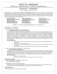 Banking Resume Objective Customer Customer Service Experience Resume