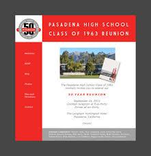 class reunions website pasadena high school reunions pasadena ca classmates