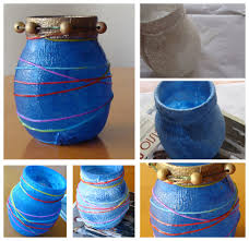 Upcycle Crafts - fab mums upcycle crafts how to make a pretty vase with a plain
