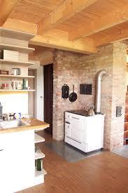 holzherd küche ausstattung ferienhaus an der finne
