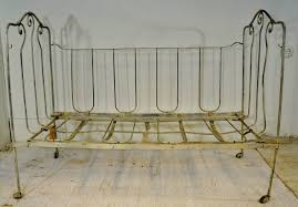 19th century french wrought iron baby bed for sale at 1stdibs