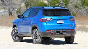 jeep compass limited blue 2017 jeep compass first drive all the right stuff