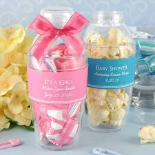 party favors for baby showers baby shower party favor ideas pink blue plastic candy glass with