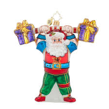 christopher radko ornaments 2015 radko pumpin up ornament