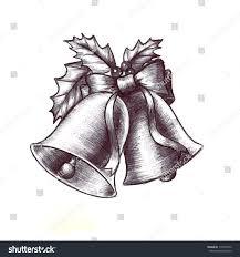 hand drawn sketch christmas clip art stock illustration 119407576