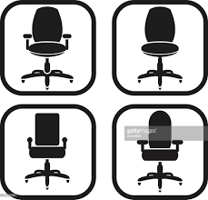 Office Chair Vector Side View Office Chair Icon