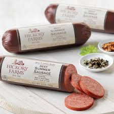 hillshire farms summer sausage spicy savory beef summer sausage 3 pack