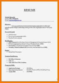 8 biodata format for jobs mailroom clerk